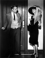 BREAKFAST AT TIFFANYS, George Peppard, Audrey Hepburn, 1961