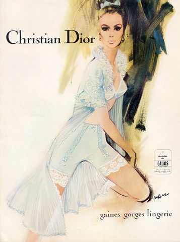 45990-christian-dior-lingerie-1967-pierre-couronne-girdle-bra-babydoll-negligee-hprints-com